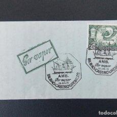 Sellos: CARTA CONMEMORATIVA - MATASELLOS AMBULANTE, POR VAPOR - BILBAO - CASTRO URDIALES - 1978... R-9510. Lote 123023743