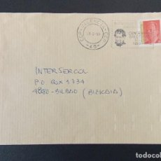 Sellos: SOBRE CIRCULADO - MATASELLOS VALENCIA CCP 46 - CENTENARIO SALESIANOS - AÑO 1999 ..... R-9575. Lote 123356043