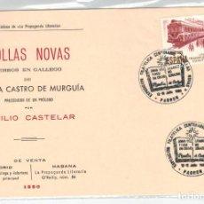 Sellos: TARJETA EDITADA POR LIBRERIA LA PROPAGANDA EN CENTENARIO FOLLAS NOVAS ROSALIA DE CASTRO. Lote 123377943