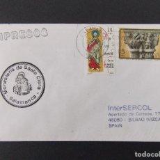 Francobolli: SOBRE CIRCULADO MARCA MONASTERIO DE SANTA CLARA , SALAMANCA 1995 .... R-9616. Lote 123577003