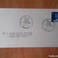 Sellos: SOBRE. EXPOSICION FILATLICA. 1979. MALAGA.. Lote 124246739