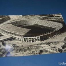 Sellos: POSTAL CIRCULADA BARCELONA ESTADIO DE FUTBOL CON MATASELLO EXPOSICION FILATELICA 2-JUNIO-1959 . Lote 124587851