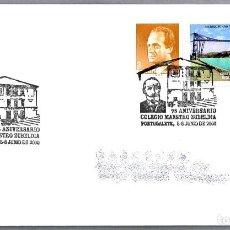 Sellos: MATASELLOS 75 AÑOS COLEGIO MAESTRO ZUBELDIA. PORTUGALETE, VIZCAYA, PAIS VASCO, 2000. Lote 125124215