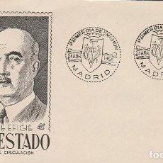 Sellos: EDIFIL 1154, GENERAL FRANCO, PRIMER DIA 24-4-1956 SOBRE DE PANFILATELICAS. Lote 125431187