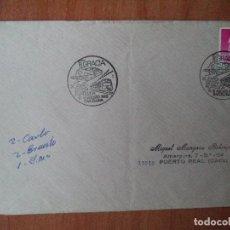 Sellos: SOBRE. GRACIA XL EXPOSICION FILATELICA BARCELONA. 1989. PUERTO REAL, CADIZ.. Lote 126406911