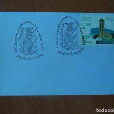 Sellos: SOBRE. III EXPOSICION FILATELICA CATALANA-02. 2000. BARCELONA.. Lote 127477495