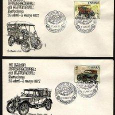 Timbres: ESPAÑA 1977. EDIFIL 2409/12 SPD(4) - AUTOMÓVILES ANTIGUOS ESPAÑOLES. Lote 195434301