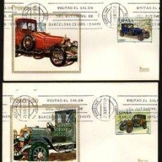 Timbres: ESPAÑA 1977. EDIFIL 2409/12 SPD(4) - AUTOMÓVILES ANTIGUOS ESPAÑOLES. Lote 128322243