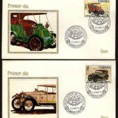 Timbres: ESPAÑA 1977. EDIFIL 2409/12 SPD(4) - AUTOMÓVILES ANTIGUOS ESPAÑOLES. Lote 128322951