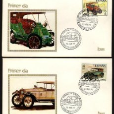 Timbres: ESPAÑA 1977. EDIFIL 2409/12 SPD(4) - AUTOMÓVILES ANTIGUOS ESPAÑOLES. Lote 128323255
