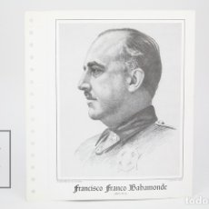 Sellos: DOCUMENTO FILATÉLICO - FRANCÍSCO FRANCO BAHAMONDE - INVESTIGACIONES POSTALES - Nº 61 - AÑO 1982. Lote 134271090