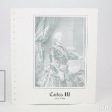 Sellos: DOCUMENTO FILATÉLICO - CARLOS III - INVESTIGACIONES POSTALES - Nº 62 - AÑO 1982. Lote 134271121