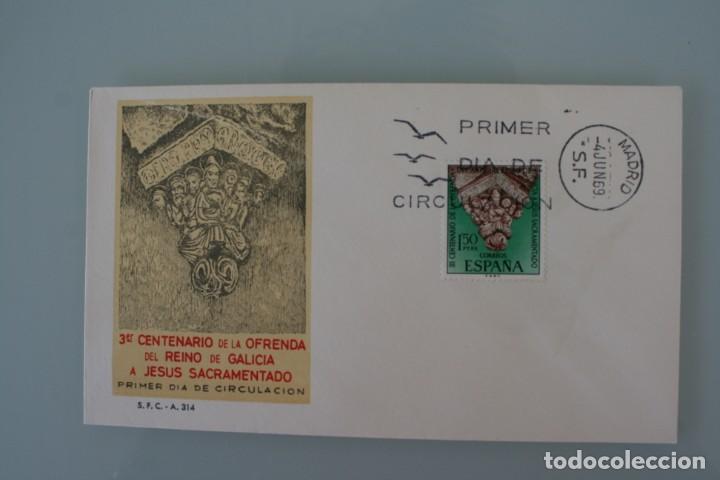 Sellos: COLECCION LOTE 33 SOBRE ENTERO POSTAL PRIMER DIA CORREOS CON SELLO INDICIUM SIN CIRCULAR AÑOS 60 - Foto 6 - 135331622