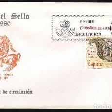 Sellos: SPD 1980 - EDIFIL 2575 - DÍA DEL SELLO. Lote 137145574