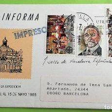 Briefmarken - España. SPD. Matasello: Sevilla???? - 137985020