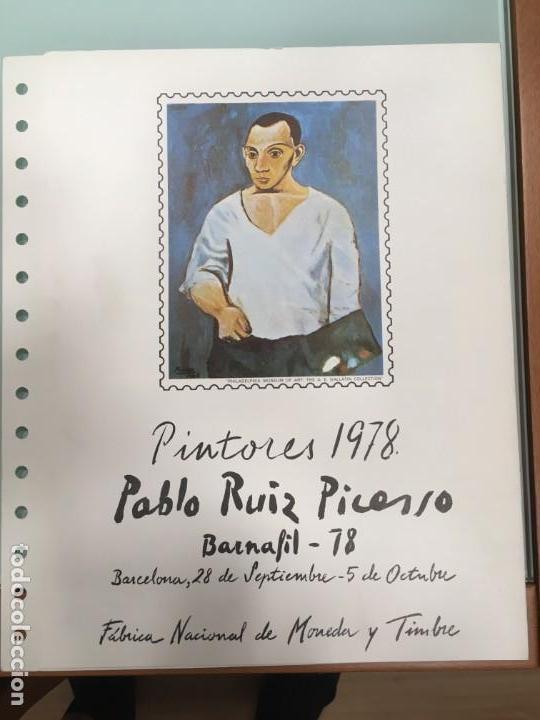 DOCUMENTO FILATELICO Nº 6 BARNAFIL 78 PICASSO (Sellos - Historia Postal - Sello Español - Sobres Primer Día y Matasellos Especiales)