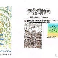 Sellos: ESPAÑA - EDIFIL 3391 - SOBRE PRIMER DÍA DE CIRCULACIÓN - PATRIMONIO DE LA HUMANIDAD - NUEVO. Lote 138602294