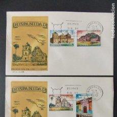 Sellos: HISPANIDAD NICARAGUA , BARCELONA 1973 ,COMPLETA EDIFIL 2154/57 , EN 2 SOBRES PRIMER DIA SFC .. A236. Lote 139141954