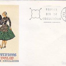 Sellos: TRAJES TIPICOS ESPAÑOLES 1971 TRAJE DE VALLADOLID (EDIFIL 2015) EN SPD DEL SFC MATASELLOS BARCELONA.. Lote 139823950