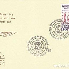 Sellos: EDIFIL 2755, CONGRESO DE FIP, FEDERACION INTERNACIONAL FILATELIA, PRIMER DIA ESPECIAL 3-5-1984 IRIS . Lote 139993362