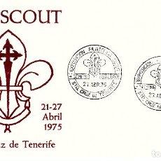 Sellos: MATASELLOS EXPOSICION F. SCOUT -STA CRUZ TENERIFE 1975 -SOLICITE LOS MATAS. QUE LE FALTEN. Lote 141565938