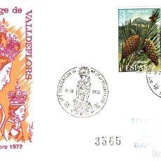 Sellos: MATASELLOS CORONACIÓN VERGE VALLDEFLORS EN TREMP 1972 -SOLICITE LOS MATASELLOS QUE LE FALTEN -. Lote 141680414