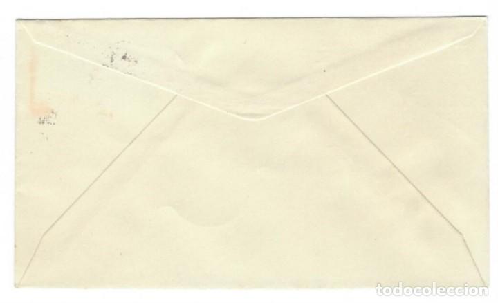 Sellos: Sobre SPD (Madrid 1956), Alfil: XX Aniversario de la exaltación del Caudillo Franco a la Jefatura de - Foto 2 - 141752982