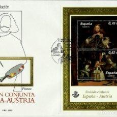 Sellos - ESPAÑA 2009- EDI 4519 (HB) (La Infanta Margarita por Velazquez) en un sobre PD del SFC - 142902938