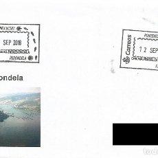 Sellos: ESPAÑA. MATASELLOS ESPECIAL. CAMINO DE SANTIAGO. REDONDELA. 2018. Lote 143081102
