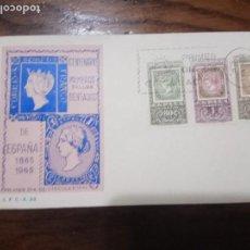 Sellos: 1965.SPD.CENTENARIO SELLO DENTADO ESPAÑOL.. Lote 143836102