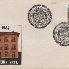Sellos: 1983 ZUMARRAGA ( GUIPUZCOA ) - URRETXUK SEIREHUN URTE - SOBRE . Lote 143940790