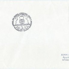 Sellos: 1992. SPAIN. CA'N PICAFORT. POSTMARK. OLIMPIADA AJEDREZ PARA CIEGOS. DEPORTES/SPORTS. CHESS. BLINDS.. Lote 145102550