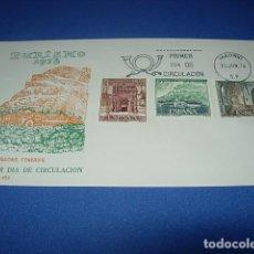 Sellos: SOBRE. TURISMO 1976. LAS CAÑADAS. TENERIFE. PRIMER DIA DE CIRCULACION. Lote 146410482