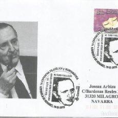 Sellos: AZUQUECA DE HENARES GUADALAJARA CC CON MAT BUERO VALLEJO LITERATURA TEATRO. Lote 195117052