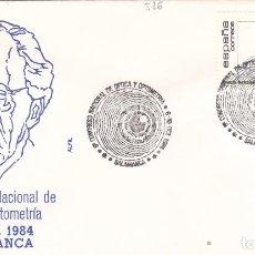 Francobolli: 1984 SALAMANCA - 8 CONGRESO NACIONAL DE OPTICA Y OPTOMETRÍA - SOBRE ALFIL. Lote 147391006