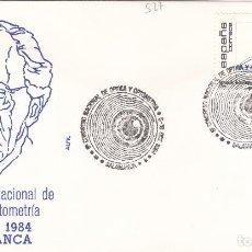 Francobolli: 1984 SALAMANCA - 8 CONGRESO NACIONAL DE OPTICA Y OPTOMETRÍA - SOBRE ALFIL. Lote 147391018
