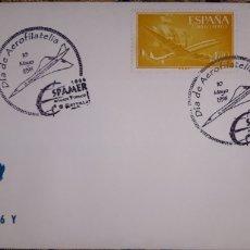 Sellos: SOBRE MATASELLOS DÍA DE AEROFILATELIA 1996. Lote 148166736