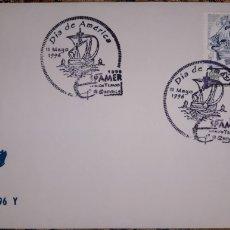 Sellos: SOBRE MATASELLOS DÍA DE AMÉRICA 1996. Lote 148167610
