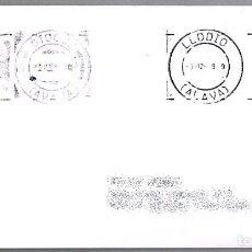 Sellos: MATASELLOS DE RODILLO - POR LA PAZ - CORROS Y TELEGRAFOS. LLODIO, ALAVA, 1999. Lote 148210614