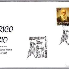 Sellos: MATASELLOS FEDERICO RUBIO. EL PUERTO DE SANTA MARIA, CADIZ, ANDALUCIA, 2002. Lote 148211854