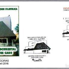 Sellos: MATASELLOS CENTRO DOCUMENTAL JOSE LUIS CANO. ALGECIRAS, CADIZ, ANDALUCIA, 2016. Lote 148213058