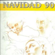 Sellos: DOCUMENTO FILATÉLICO Nº15 DE LA DIR,GRAL.CORREOS NAVIDAD 90. Lote 148225474