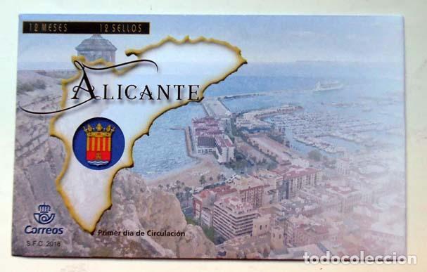 FILATELIA SOBRE PRIMER DIA ALICANTE (Sellos - Historia Postal - Sello Español - Sobres Primer Día y Matasellos Especiales)