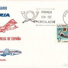 Briefmarken - SOBRE: 1977 BARCELONA. 50 ANIVERSARIO DE IBERIA - 150223162