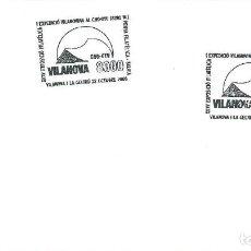 Sellos: 2005. VILANOVA I LA GELTRÚ. MATASELLOS/POSTMARK. EXP AL CHO-OYU. ALPINISMO/CLIMBING. DEPORTES/SPORTS. Lote 151524150
