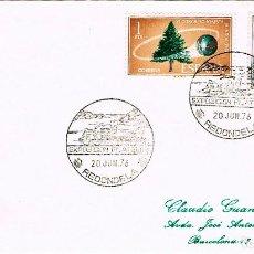 Sellos: AÑO 1976, REDONDELA (PONTEVEDRA), EXPOSICION FILATLICA. Lote 153492802
