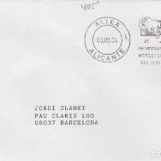Timbres: 2004 ALTEA ( ALICANTE ), 25 ANIVERSARIO FIESTA MOROS Y CRISTIANOS -SOBRE MATASELLOS DE RODILLO. Lote 154271538