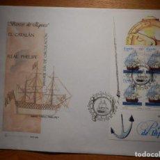 Francobolli: SOBRE PRIMER DÍA CIRCULACIÓN S.P.D - BARCOS DE ÉPOCA EDIFIL SH 3415, 3416 S.F.C.6/96 -. Lote 154657926