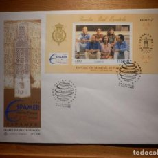 Francobolli: SOBRE PRIMER DÍA CIRCULACIÓN S.P.D - SPAMER 96 - FAMILIA REAL - EDIFIL SH 3428 F.C.9/96 - . Lote 154660942