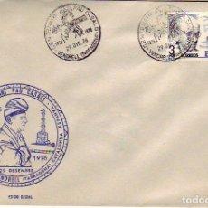Sellos: CENTENARI PAU CASALS 1976 EL VENDRELL - TARRAGONA. Lote 155059418